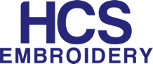 HCS Embroidery Web Logo